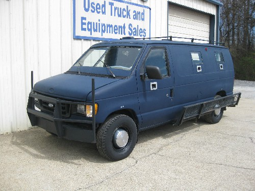 Armored Van used in Attack on Dallas PD 6/13