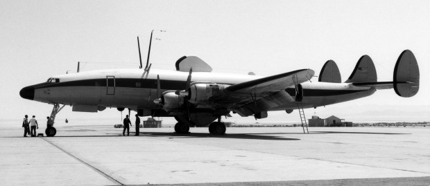 EC-121S propaganda plane. Air Force photos