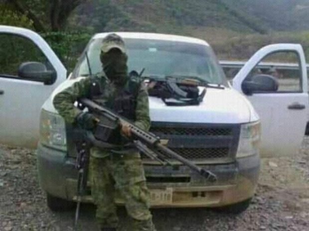 CDG Cartel Soldier Armed with Barrett M82 .50 Caliber Sniper Rifle