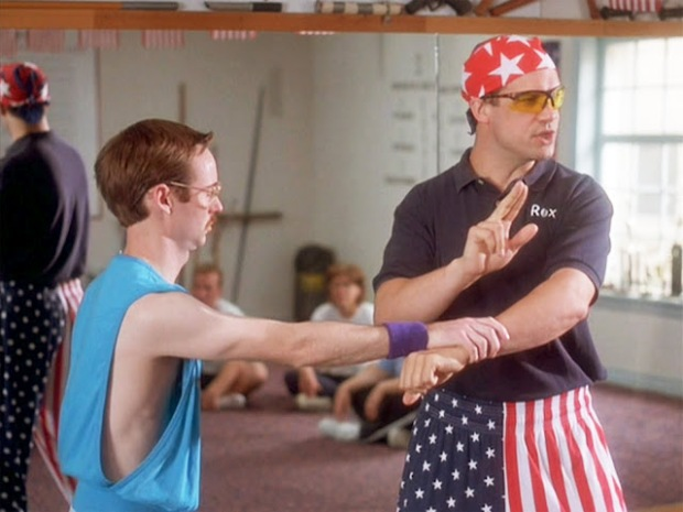 One of my all time Personal Favorite Trainers: Rexkwondo from Napoleon Dynamite. Kick Ass! Not.
