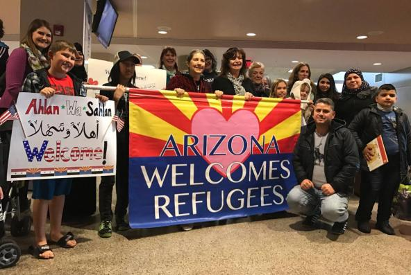 Arizona welcomes refugees